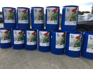 Since October 10th these Model Bins have seen over 2,400 Coats donated for Kids in need this winter!