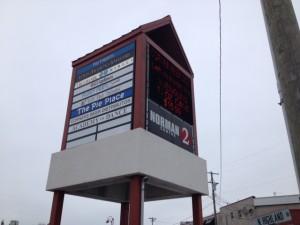 Norman Center 2 front pylon