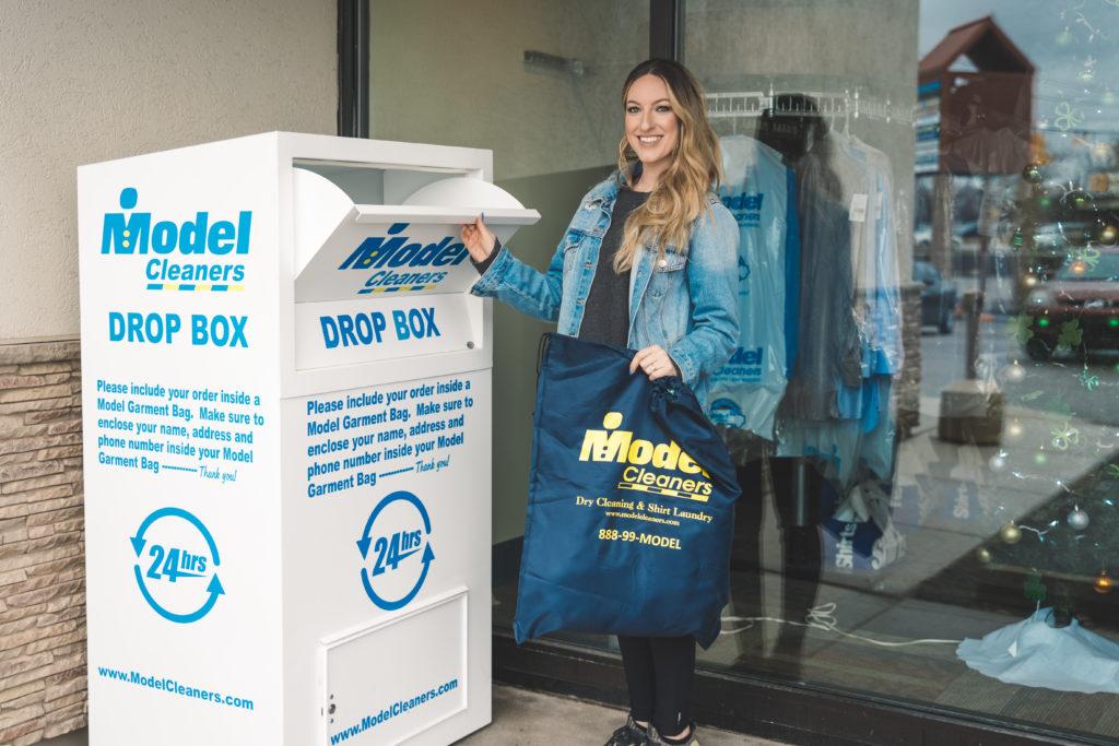 Model Cleaners Drop Box